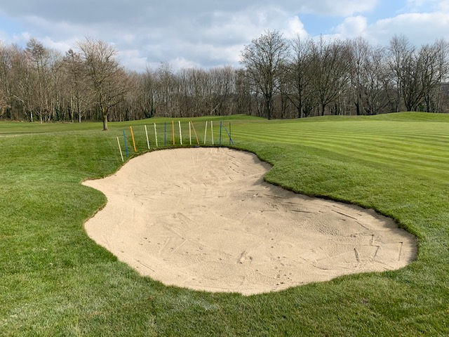 Left Hand Greenside Bunker