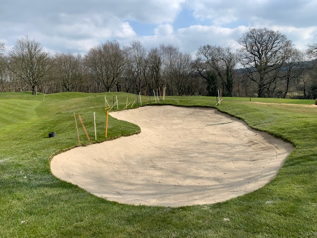 Right Hand Greenside Bunker