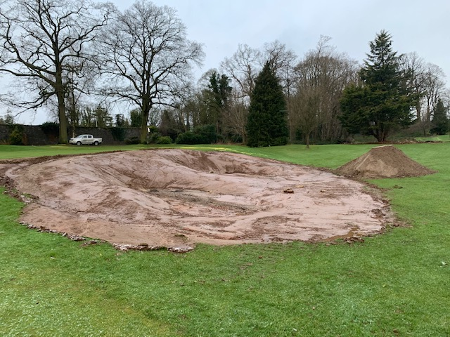 Two 'New' Bunkers Shaped