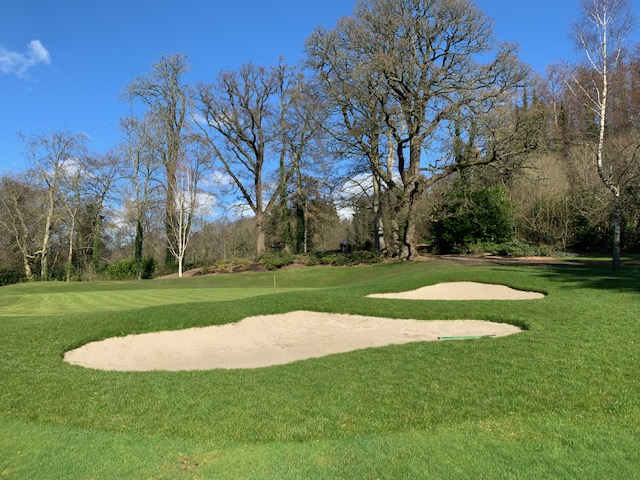 Right Hand Greenside Bunkers