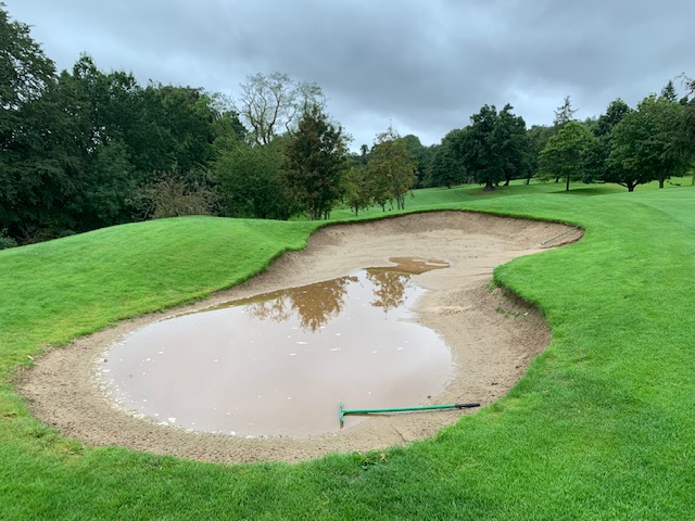 7th Hole Fairway Bunker
