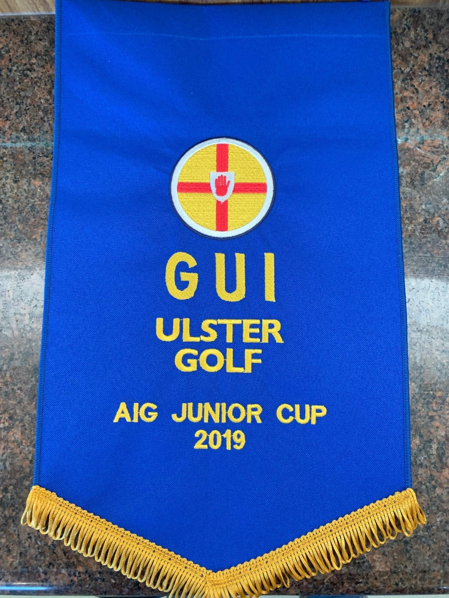 2019 AIG Junior Cup Ulster Pennant